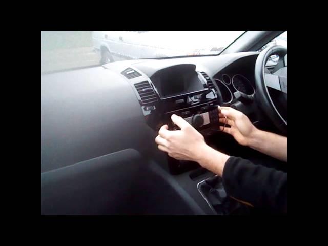 Radio Removal Any Vauxhall (2000-2012) | JustAudioTips ...