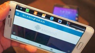 Samsung Galaxy Note Edge hands on - IFA 2014