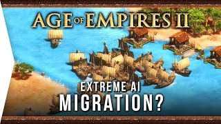 Extreme AI & Migration Map? ► Age of Empires II: Definitive Edition - New AoE 2 DE Computer Analysis