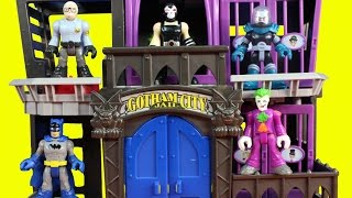 Imaginext Jailbreak From Gotham City Jail With Batman Joker Bane And Lex Luthor