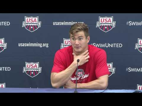 2016 Olympic Training Camp Media Day Press Conference: Nathan Adrian