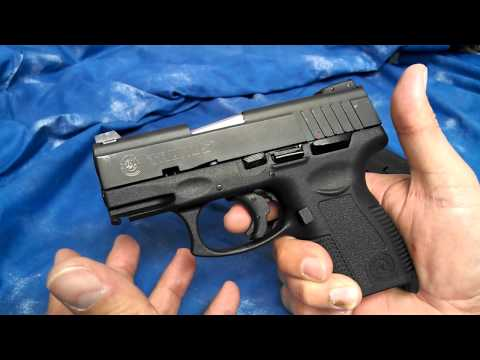 Review: Taurus PT638 Pro SA .380 Pistol w/15rd Mag Part 2