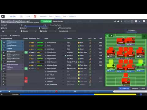 Football Manager 2016 - Oxford United FC - Episode 015 / Barclays Premier League