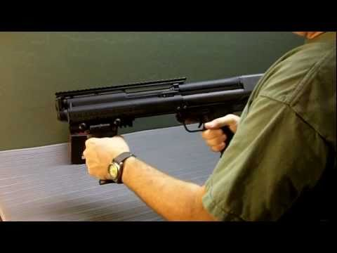 Crimson Trace MVF-515 Install on Kel-Tec KSG Shotgun