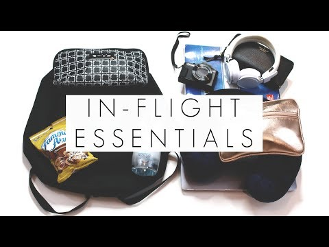 My In-Flight Essentials For Travel || What's In My Carry On Bag || BeautyChickee