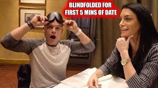"SON GOES ON ""BLIND DATE"" WITH HIS MOTHER!"