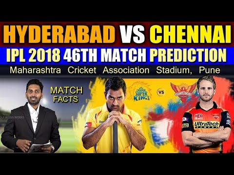 Chennai Super Kings vs Sunrisers Hyderabad, 46th Match Prediction | Sports News | Eagle Media Works