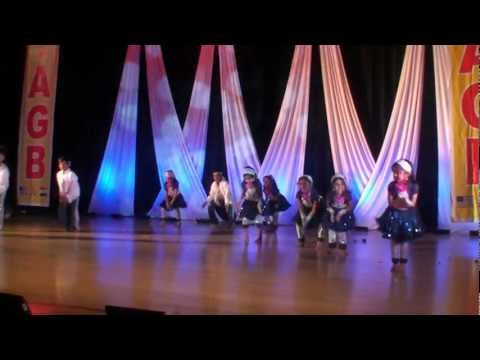Mayukha group dance -Dandia India song from Oosaravelli  performance @TAGB 2012 Ugadi