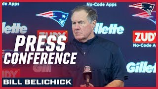 """Bill Belichick on win over Chargers: """"I couldn't be prouder"""""""