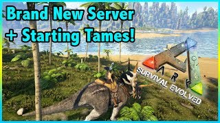 Brand New PRIMITIVE + SERIES, AND YOU CAN JOIN! || Ark Primitive Plus Ep 1!