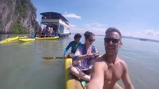 Sea Canoes! - Phang Nga Bay - May 23, 2017