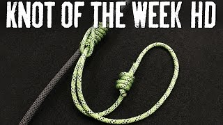 Haul and Hoist with the Klemheist Knot - ITS Knot of the Week HD
