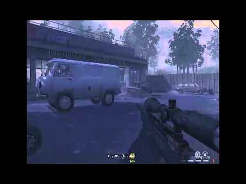 Call of Duty Modern Warfare PC Gameplay - Modo Sniper
