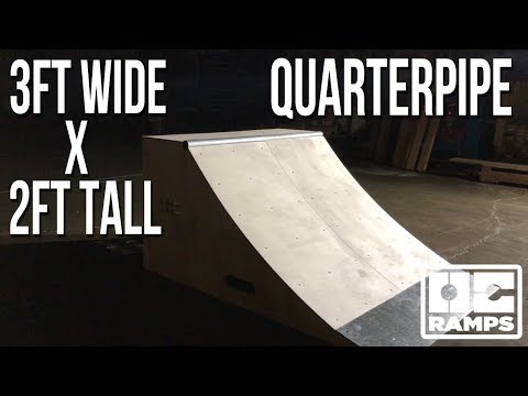 Mini Quarterpipe 3ft wide