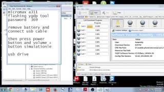 micromax a311 flashing ygdp tool