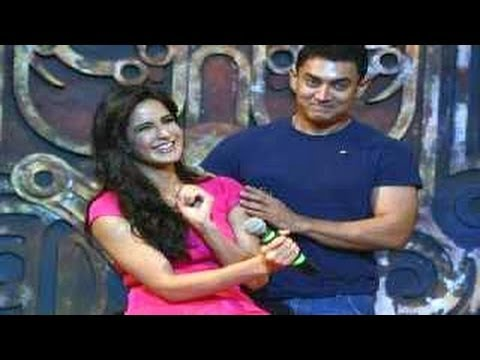 'dhoom Machale Dhoom' Song Launch With Katrina Kaif & Aamir Khan video