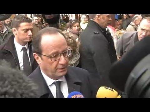 François Hollande en Corrèze réaffirme la