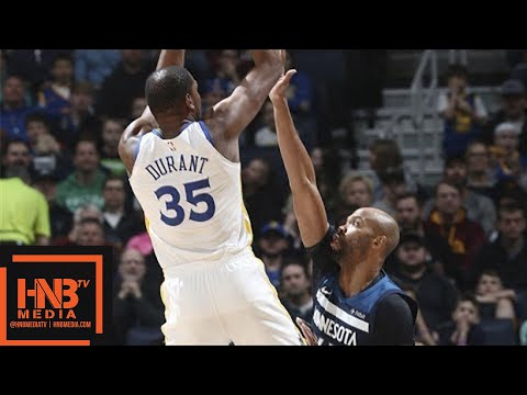 Golden State Warriors vs Minnesota Timberwolves Full Game Highlights / March 11 / 2017-18 NBA Season