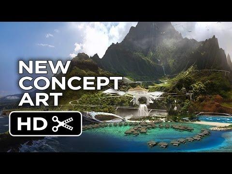 Jurassic World - New Island Concept Art (2015) - Jurassic Park Sequel Movie HD
