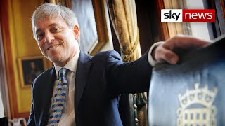 Bercow tears up as he announces his retirement