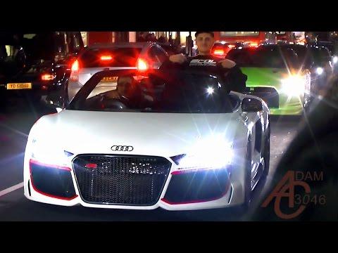 Exotic Cars Of London - February 2015 cruise MAYHEM!