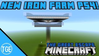 Minecraft Iron Farm PS4 Updated for 1.93 and 1.94