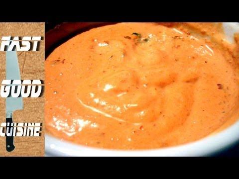 Recette facile sauce andalouse fastgoodcuisine youtube - Recette de cuisine algerienne facile ...