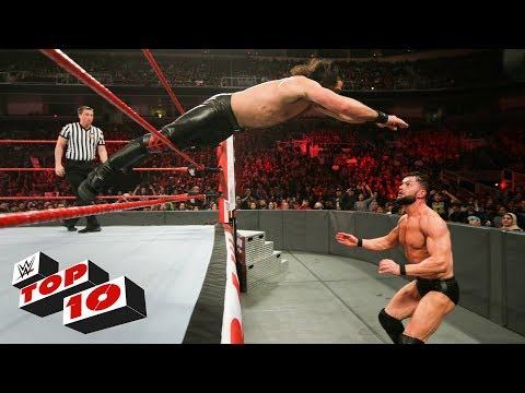 Top 10 Raw moments: WWE Top 10, February 12, 2018 thumbnail