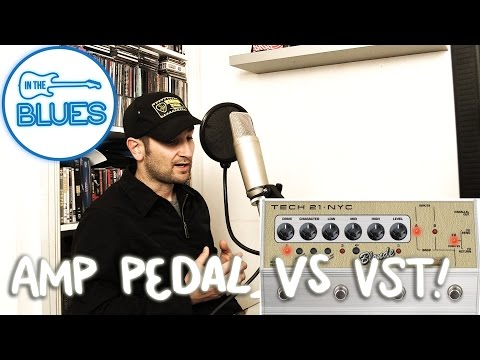 Software Amp Simulation Software Vs Amplifier Pedals - INTHEBLUES Tone Podcast #2 3/4