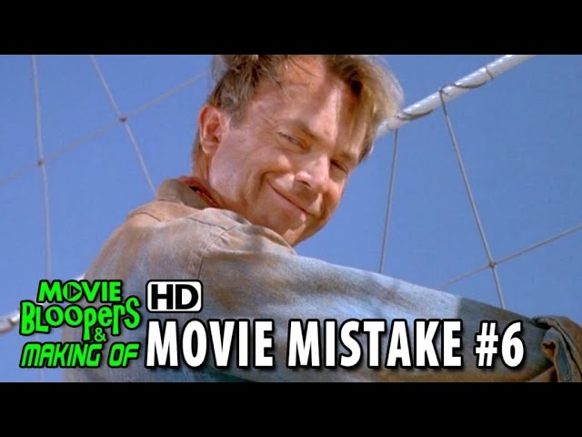 Jurassic Park (1993) movie mistake #6