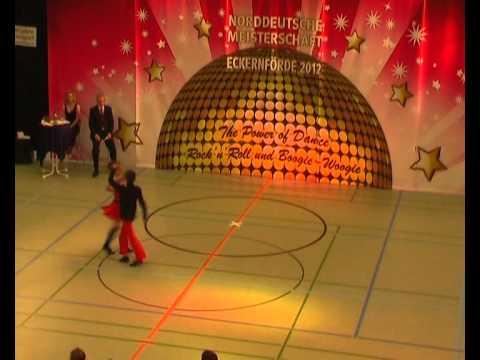 Helene Hielscher & Mattheo Hielscher - Norddeutsche Meisterschaft 2012