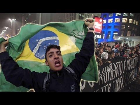 Protestos Brasil: Change Brazil and Free Fare Movement take to streets