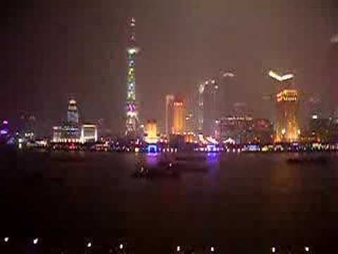 Downtown Shanghai (View from Bund)