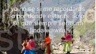Mi linda wawita Willian luna (Cancion completa con letra)
