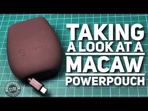 Taking a look at a Macaw Powerpouch