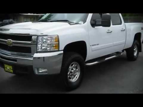 Used 2008 Chevrolet Silverado 2500HD LT CREW CAB DIESEL 4WD Z71 For Sale
