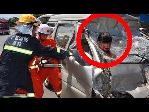 Смертельно ужасные аварии 2018