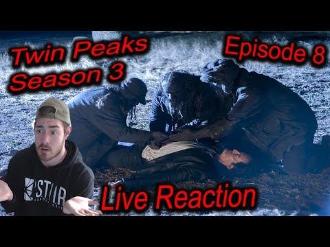 TWIN PEAKS SEASON 3 EPISODE 8 LIVE REACTION - *Explicit language*