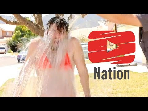 The Most Unforgettable Ice Bucket Challenge You'll Ever See