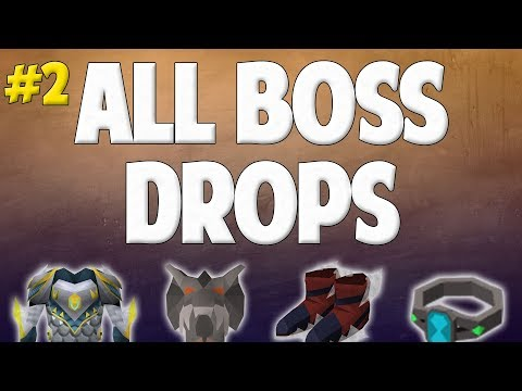 Runescape 2017 | Road to All Boss Drops #2