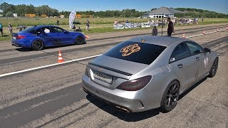 990HP Mercedes-Benz CLS63 AMG Gorilla Performance vs 830HP BMW M5 F90