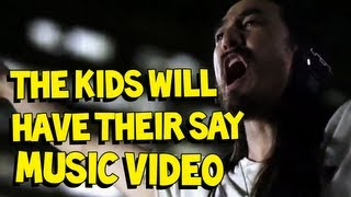 Клип Steve Aoki - The Kids Will Have Their Say