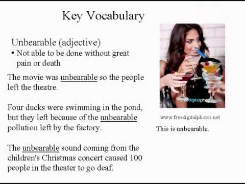 Intermediate Learning English Lesson 7 - How Much Noise Is OK  - Vocabulary and Pronunciation