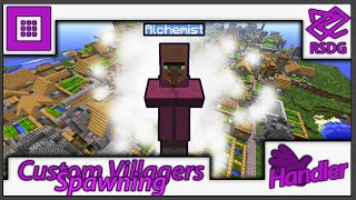 Naturally Spawning Custom Villagers! - Handler