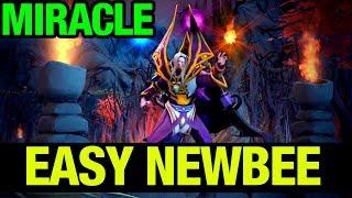 EASY NEWBEE - MIRACLE- INVOKER - Dota 2