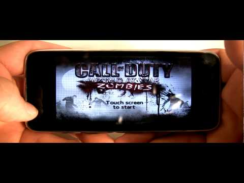 iPod / iPhone App Review - Call of Duty World at War Zombies