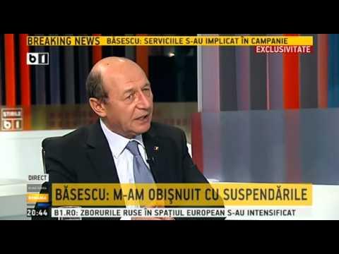 Buna seara, Romania - 30 octombrie 2014 - invitat Traian Basescu - emisiune completa
