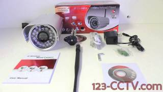 Wireless Outdoor Ip Camera 602IRWS