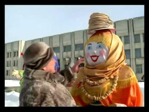 Парад масленичных кукол в Ярославле