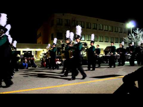 McDonough Christmas Parade - Ola High School Marching Band